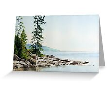 Selim Shoreline Greeting Card