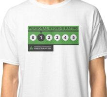 Hygiene Rating - ONE Classic T-Shirt