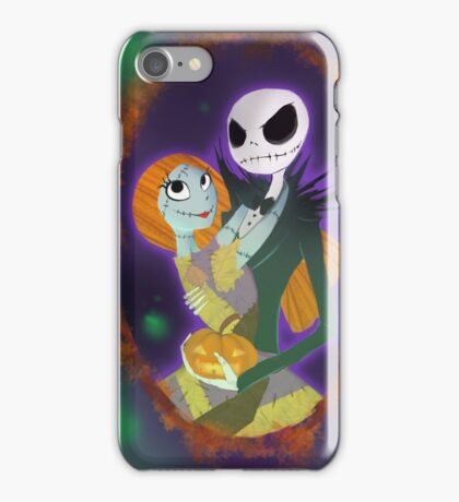 The Pumpkin King and Queen iPhone Case/Skin