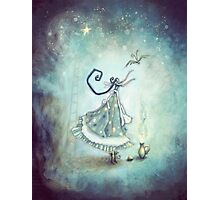 Bluebelle and the Stars Photographic Print