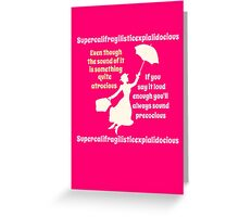 Super Poppins Greeting Card