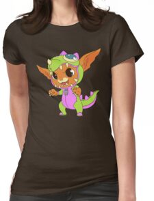 Dino Gnar Womens Fitted T-Shirt