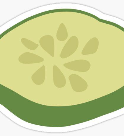 Cucumber Slice Sticker Sticker