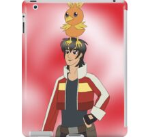 Voltron Pokemon - Keith & Torchic iPad Case/Skin