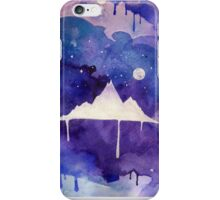 Watercolour Mountain iPhone Case/Skin