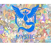 TeamMystic Photographic Print