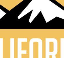 EXPLORE CALIFORNIA USA MOUNTAINS BIKING HIKING CAMPING CLIMBING Sticker