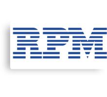 RPM - Revs Per Minute Canvas Print