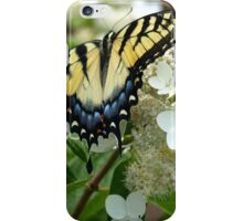 Yellow Tiger Swallowtail by Elisabeth and Barry King™ iPhone Case/Skin
