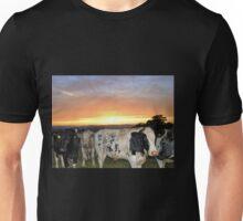Cows at Sunset............Devon UK Unisex T-Shirt