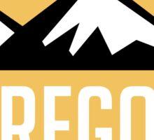 EXPLORE OREGON USA MOUNTAINS BIKING HIKING CAMPING CLIMBING Sticker