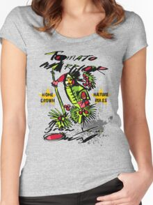 tomato warrior Women's Fitted Scoop T-Shirt