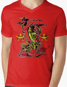 tomato warrior Mens V-Neck T-Shirt