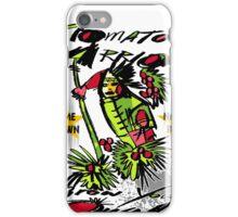 tomato warrior iPhone Case/Skin