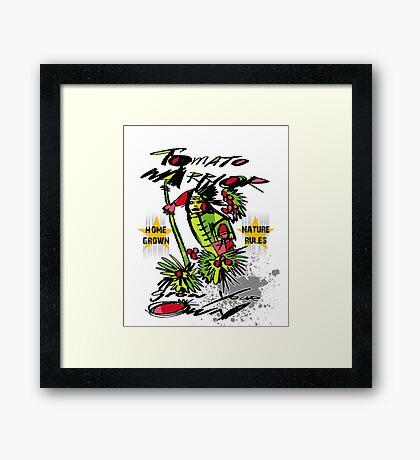 tomato warrior Framed Print