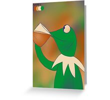Oswald Kermit Greeting Card