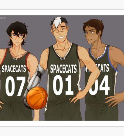Voltron - Team Spacecats Sticker