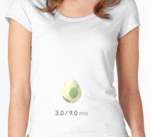 Pokemon Go Pregnancy Announcement Shirt Women's Fitted Scoop T-Shirt