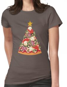 Pizza on Earth - Pepperoni Womens Fitted T-Shirt