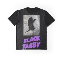 Black Tabby  Graphic T-Shirt