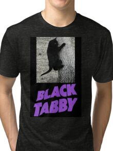 Black Tabby  Tri-blend T-Shirt