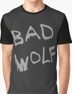 Bad Wolf Spraypaint Graphic T-Shirt