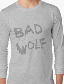Bad Wolf Spraypaint Long Sleeve T-Shirt
