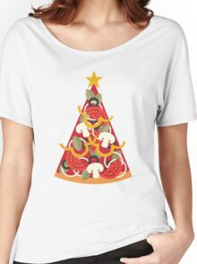 Pizza on Earth - Vegetarian Women's Relaxed Fit T-Shirt