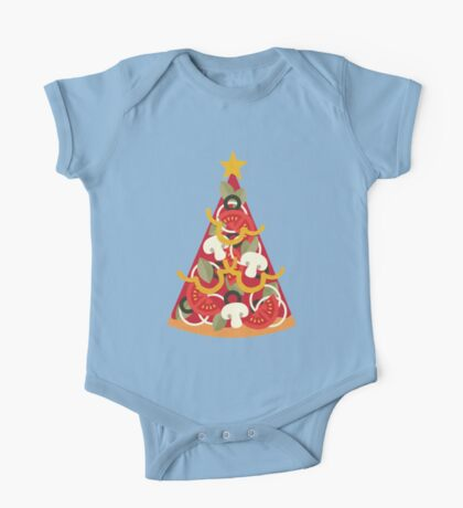 Pizza on Earth - Vegetarian One Piece - Short Sleeve