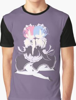 Re: Zero - Rem & Ram Graphic T-Shirt