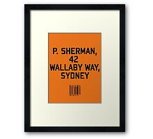 P Sherman Framed Print
