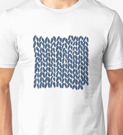 Half Knit Navy Unisex T-Shirt
