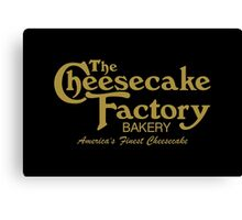 The Cheesecake Factory - Gold Bakery Variant Canvas Print
