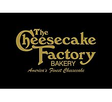 The Cheesecake Factory - Gold Bakery Variant Photographic Print