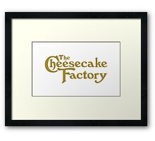 The Cheesecake Factory Framed Print