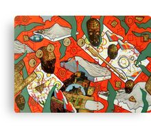 Reckless Public Cranial Alteration on Mercury Canvas Print