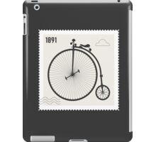 Penny Farthing 1891 iPad Case/Skin