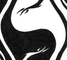Dragon Ying Yang Sticker