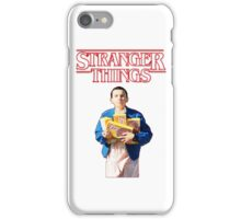 Eleven With Her Waffles on Stranger things iPhone Case/Skin