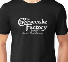 The Cheesecake Factory - White Bakery Variant Unisex T-Shirt
