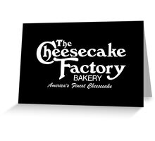 The Cheesecake Factory - White Bakery Variant Greeting Card