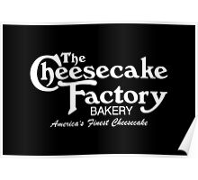 The Cheesecake Factory - White Bakery Variant Poster