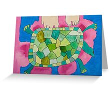 Trevor the Turtle by Mimari Greeting Card