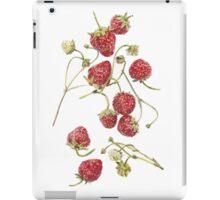Grandmas Strawberries  iPad Case/Skin
