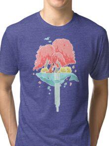 Whale Island Tri-blend T-Shirt
