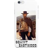 Squint Eastwood iPhone Case/Skin