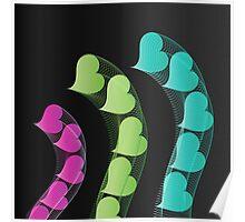 Heart Tremors | Digital Art Poster
