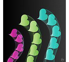 Heart Tremors   Digital Art Photographic Print