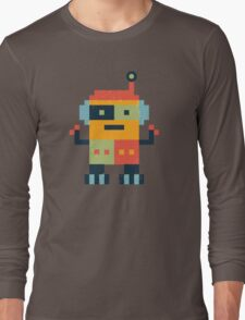 Happy Robot Long Sleeve T-Shirt