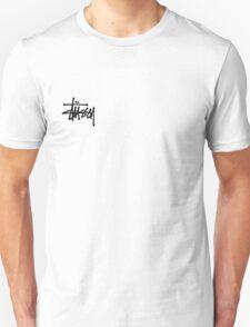 Stussy Logo White Unisex T-Shirt